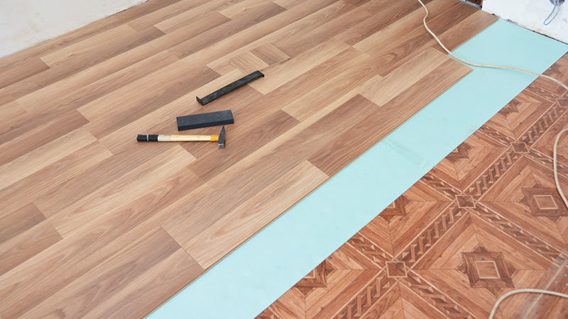 In Most Cases Flooring Such As Installing Carpet Or Tile Still Is Recently Glue Less Laminate Has Made An